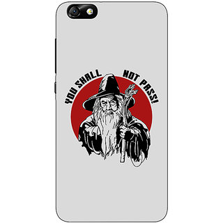 1 Crazy Designer LOTR Hobbit Gandalf Back Cover Case For Huwaei Honor 4X C690361