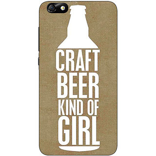 1 Crazy Designer Beer Quote Back Cover Case For Huwaei Honor 4X C691219