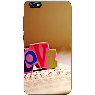 1 Crazy Designer Love  Back Cover Case For Huwaei Honor 4X C690727