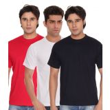 Combo White Red Blue Crew T-Shirt