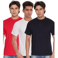 Weardo Men's Blue Round Neck T-Shirt (Combo)