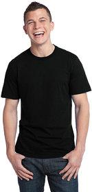 Weardo Men's Black Round Neck T-Shirt