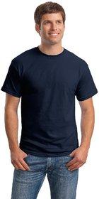 Weardo Men's Blue Round Neck T-Shirt