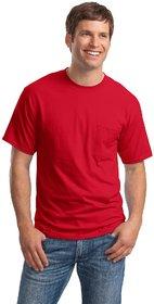 Weardo Men's Red Round Neck T-Shirt