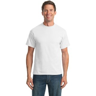 White Plain Crew Neck T-shirt
