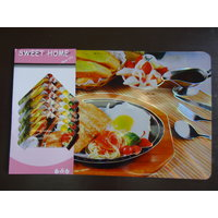 Decorika Laser Printed Table Mats & Coaster Set Of 12 Pcs - BUY 1 GET 1 FREE