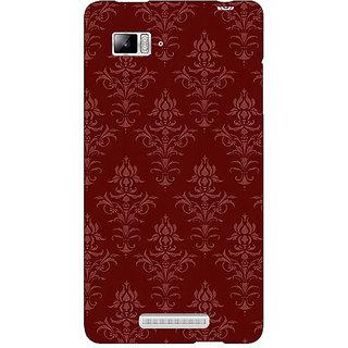 1 Crazy Designer Indian Pattern Back Cover Case For Lenovo K910 C711437