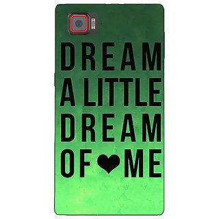 1 Crazy Designer Dream Love Back Cover Case For Lenovo K920 C720094