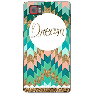 1 Crazy Designer Dream Back Cover Case For Lenovo K920 C720095