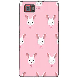 1 Crazy Designer Rabbit Back Cover Case For Lenovo K920 C720098