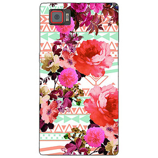 1 Crazy Designer Floral Pattern  Back Cover Case For Lenovo K920 C720676