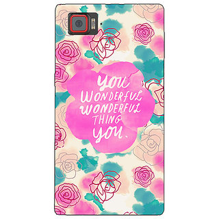 1 Crazy Designer Floral Pattern  Back Cover Case For Lenovo K920 C720677