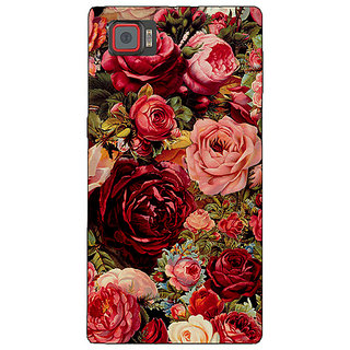 1 Crazy Designer Floral Pattern  Back Cover Case For Lenovo K920 C720680