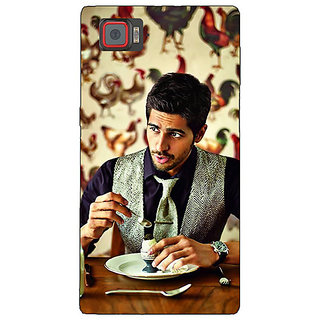 1 Crazy Designer Bollywood Superstar Siddharth Malhotra Back Cover Case For Lenovo K920 C720942