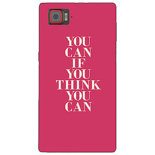 1 Crazy Designer Quotes Back Cover Case For Lenovo K920 C721193