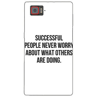 1 Crazy Designer Quotes Back Cover Case For Lenovo K920 C721194