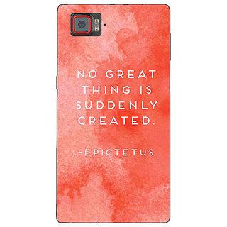 1 Crazy Designer Quotes Back Cover Case For Lenovo K920 C721200