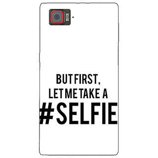 1 Crazy Designer Selfie Quote Back Cover Case For Lenovo K920 C721454