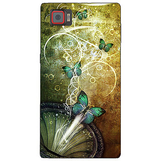 1 Crazy Designer Abstract Butter Fly Pattern Back Cover Case For Lenovo K920 C721525