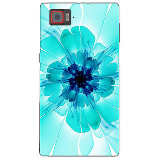 1 Crazy Designer Abstract Flower Pattern Back Cover Case For Lenovo K920 C721526