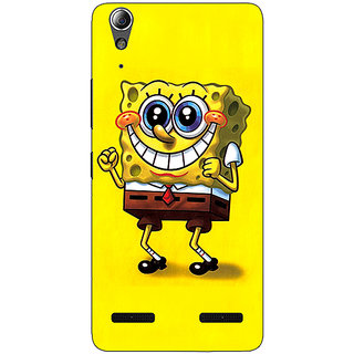 1 Crazy Designer Spongebob Back Cover Case For Lenovo A6000 C730470