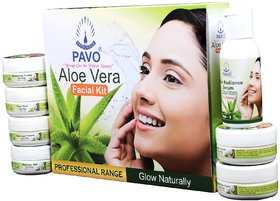 Pavo Aloe Vera Facial Kit (210g)