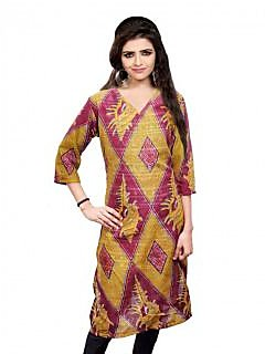 Nakoda assorted designer Unstitched Kurti Dress Material