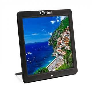 XElectron 12 Inch HD Ready Digital Photo Frame (Black)