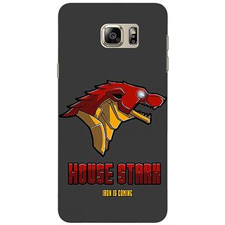 1 Crazy Designer Game Of Thrones GOT House Stark  Back Cover Case For Samsung S6 Edge+ C900126
