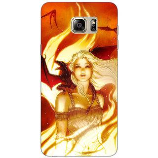 1 Crazy Designer Game Of Thrones GOT House Targaryen  Back Cover Case For Samsung S6 Edge+ C900146