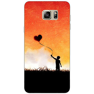 1 Crazy Designer Love In The Air Back Cover Case For Samsung S6 Edge+ C900720