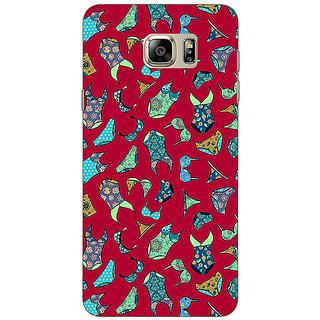 1 Crazy Designer Inners Pattern Back Cover Case For Samsung S6 Edge+ C900245