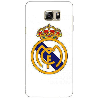1 Crazy Designer Real Madrid Back Cover Case For Samsung S6 Edge+ C900584