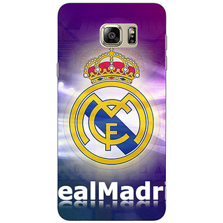 1 Crazy Designer Real Madrid Back Cover Case For Samsung S6 Edge+ C900595