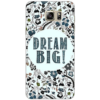 1 Crazy Designer Dream Quote Back Cover Case For Samsung S6 Edge+ C900817