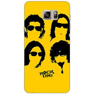 1 Crazy Designer Bollywood Superstar Rock On Back Cover Case For Samsung S6 Edge+ C901098