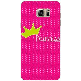 1 Crazy Designer Princess Back Cover Case For Samsung S6 Edge+ C901400