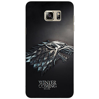 1 Crazy Designer Game Of Thrones GOT House Stark  Back Cover Case For Samsung Galaxy Note 5 C910134
