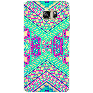 1 Crazy Designer Floral Pattern  Back Cover Case For Samsung S6 Edge+ C900669