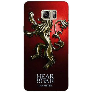 1 Crazy Designer Game Of Thrones GOT House Lannister Back Cover Case For Samsung S6 Edge+ C901553