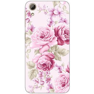 1 Crazy Designer Floral Pattern  Back Cover Case For HTC Desire 626G C930661