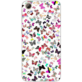 1 Crazy Designer Butterflies Back Cover Case For HTC Desire 626G+ C940709