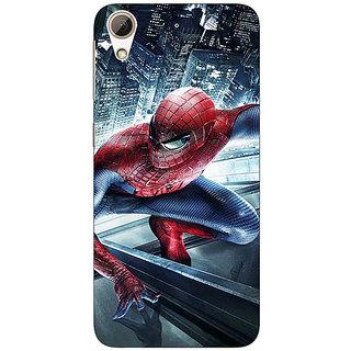 1 Crazy Designer Superheroes Spiderman Back Cover Case For HTC Desire 626G C930873