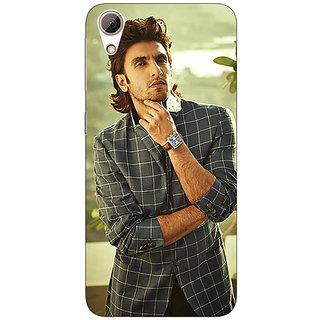 1 Crazy Designer Bollywood Superstar Ranveer Singh Back Cover Case For HTC Desire 626G+ C940939