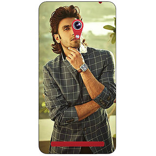 1 Crazy Designer Bollywood Superstar Ranveer Singh Back Cover Case For Asus Zenfone 6 600CG C780939