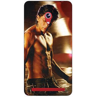 1 Crazy Designer Bollywood Superstar Shahrukh Khan Back Cover Case For Asus Zenfone 6 600CG C780954