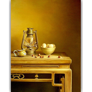 Vitalwalls Still Life Painting Canvas Art Print. Static-091-30cm