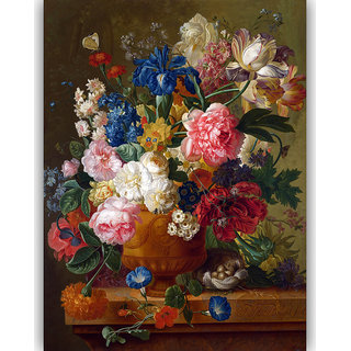 Vitalwalls Still Life Painting Canvas Art Print. Static-108-30cm