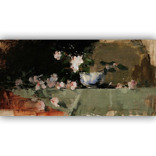 Vitalwalls Still Life Painting Canvas Art Print. Static-120-30cm