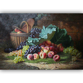 Vitalwalls Still Life Painting Canvas Art Print. Static-142-30cm